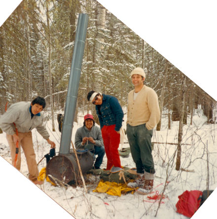 Winter Camping Course, Red Earth Reserve, northen SK